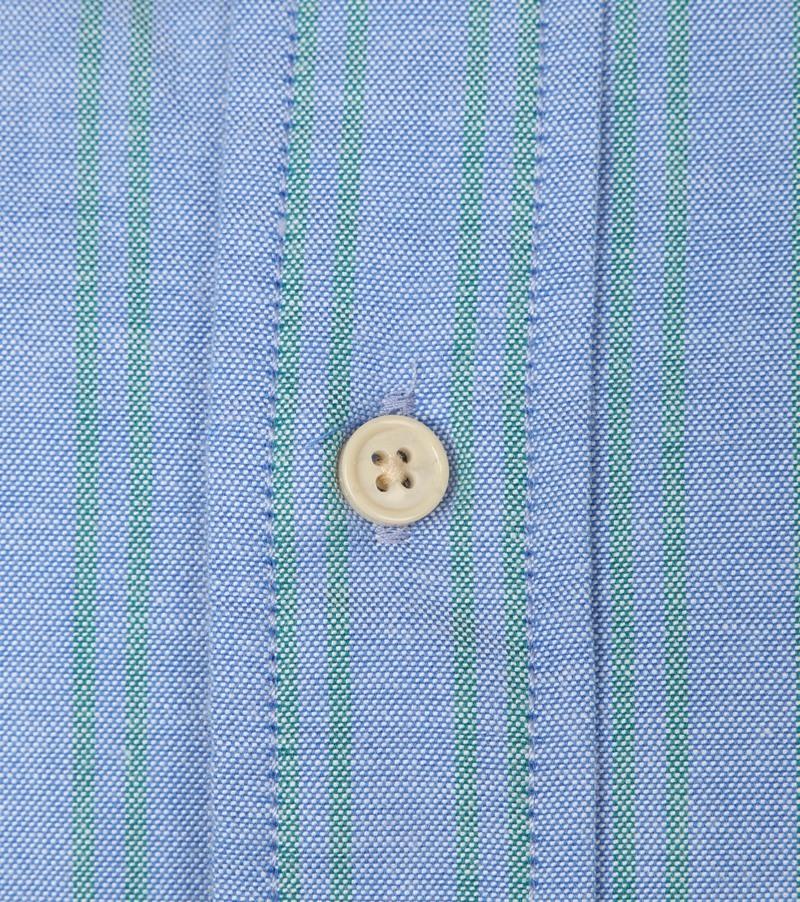 Scotch and Soda Overhemd Streep Blauw foto 3