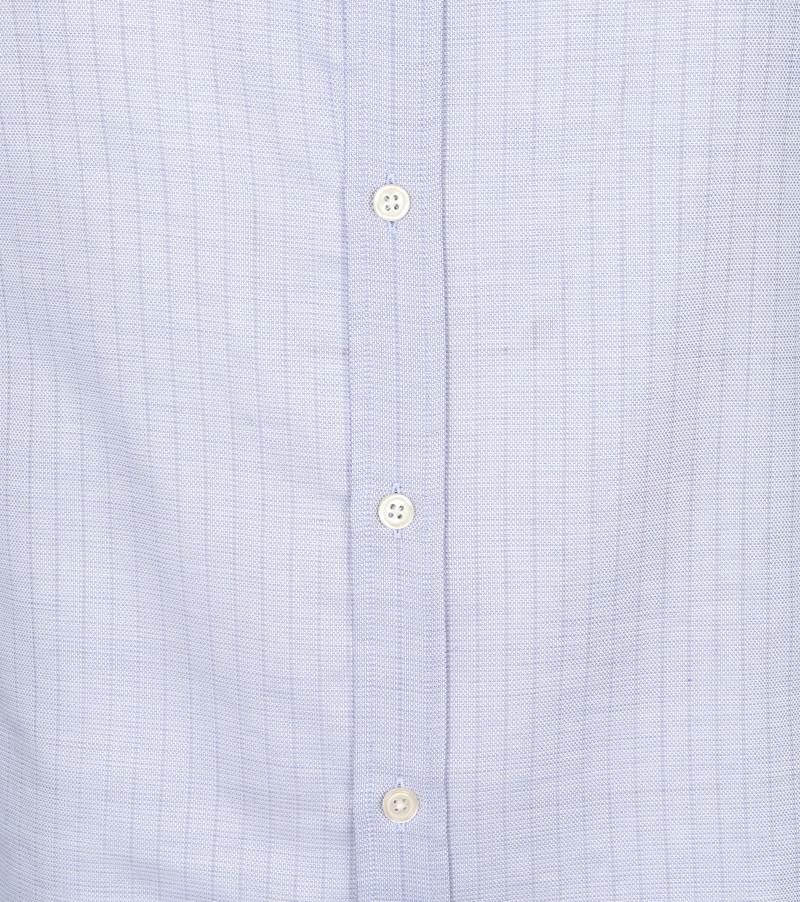Scotch and Soda Overhemd Strepen Lichtblauw - Blauw maat S
