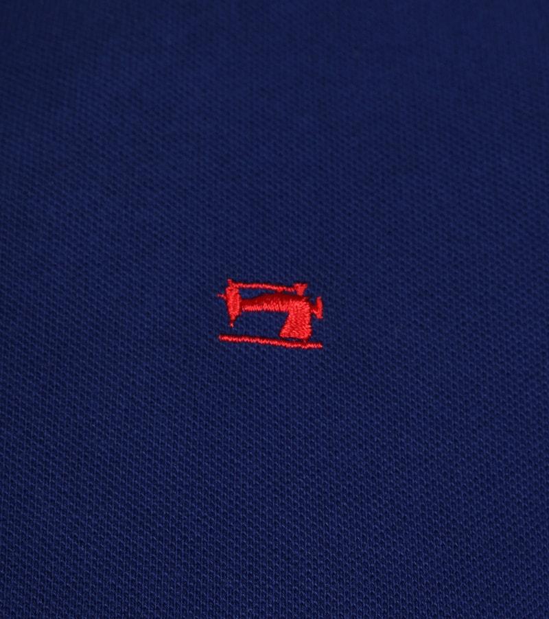 Scotch and Soda Poloshirt Dunkel Blau Foto 2