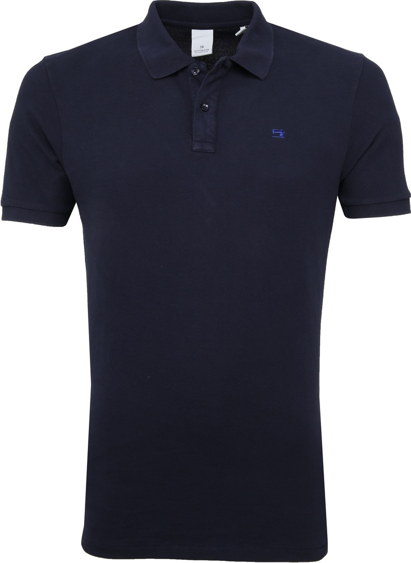 Scotch and Soda Poloshirt Dunkelblau Foto 0