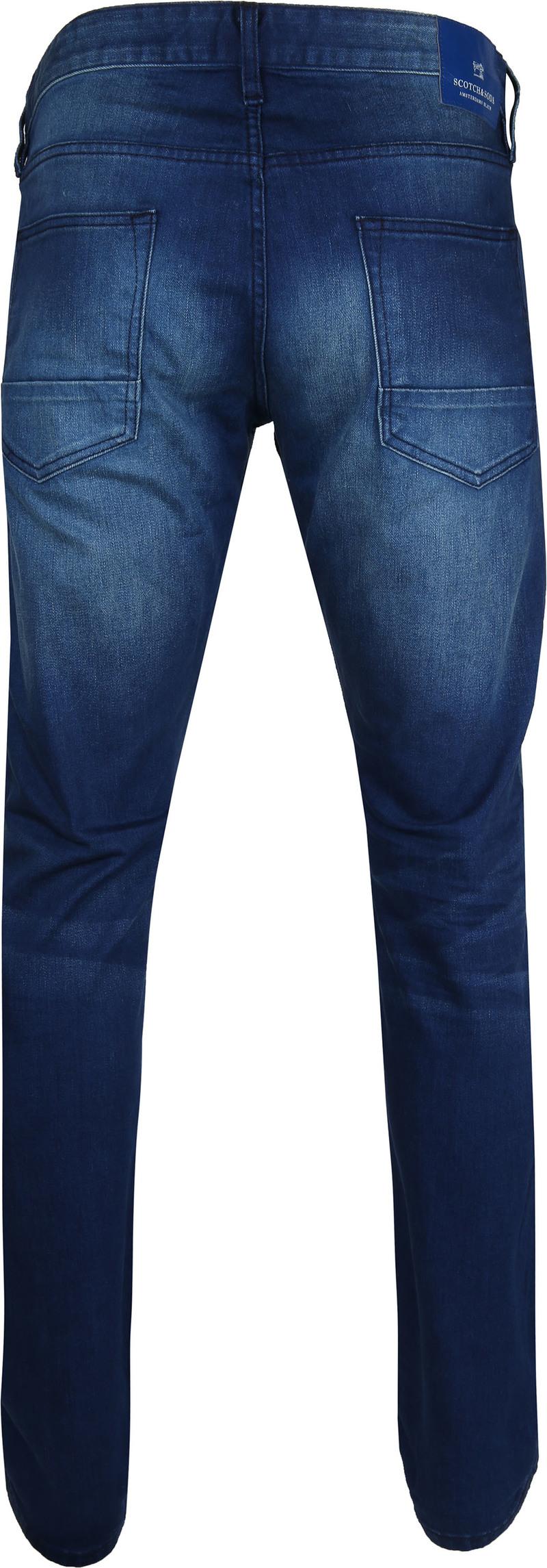 Scotch and Soda Ralston Jeans Blauw foto 3