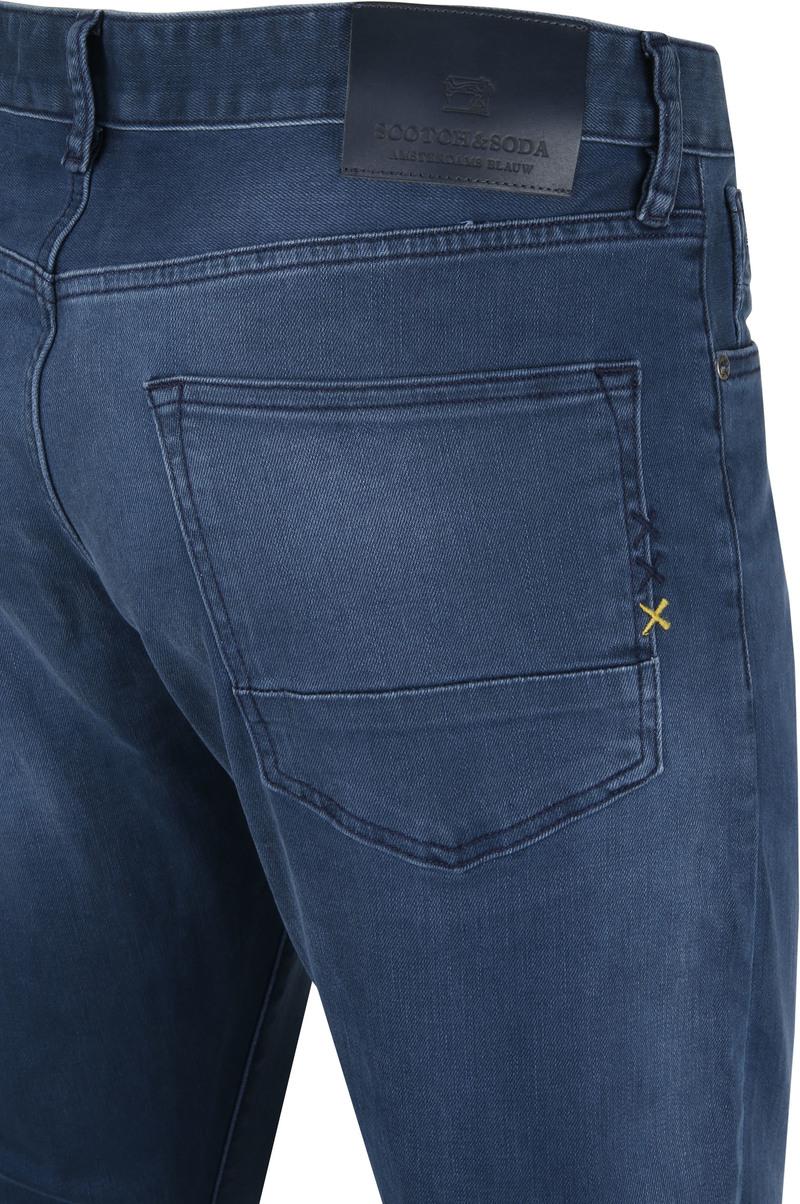 Scotch and Soda Ralston Jeans Concrete Blauw foto 2