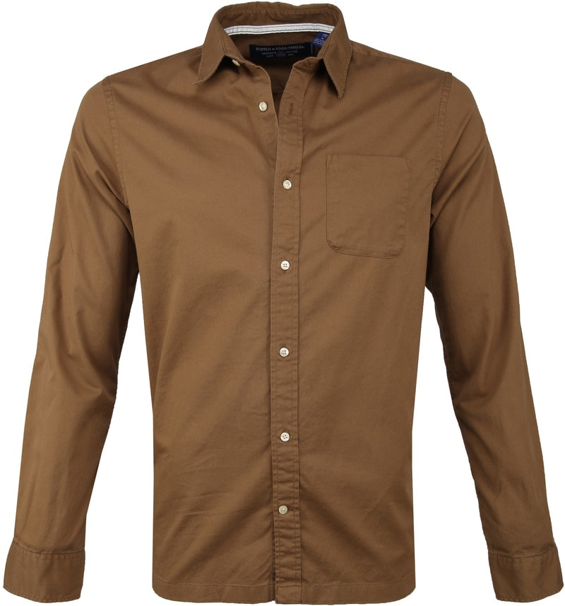 Scotch and Soda Shirt Brown photo 0