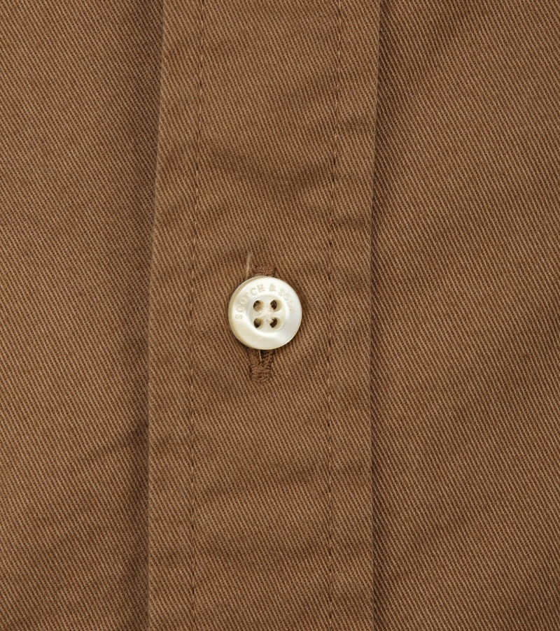 Scotch and Soda Shirt Brown photo 2