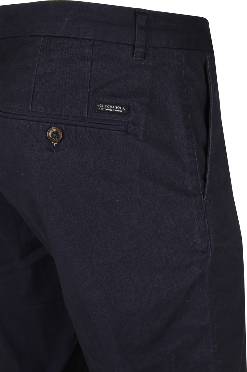 Scotch and Soda Stuart Chino Navy photo 2