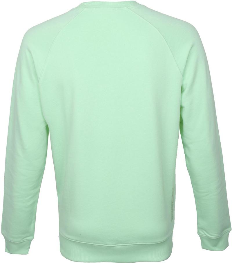 Scotch and Soda Sweater Logo Groen - Groen maat XL