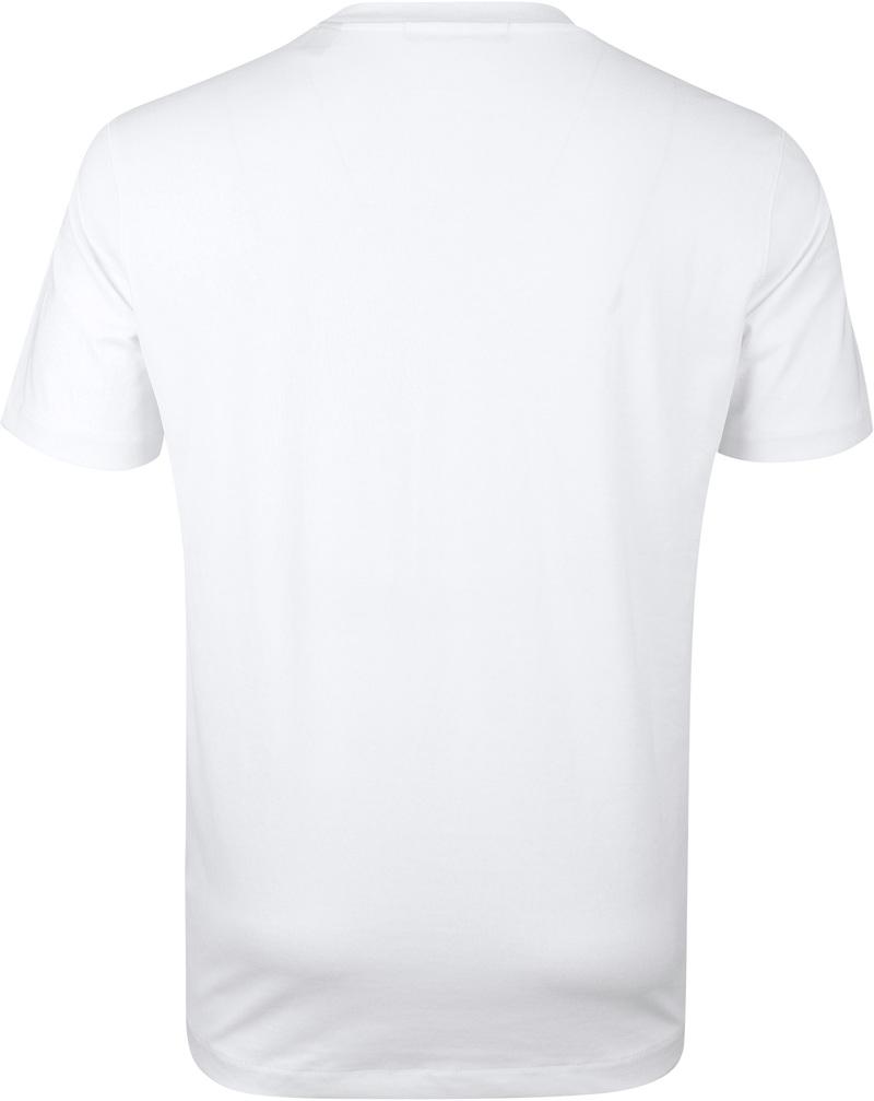 Scotch & Soda T-Shirt Logo Artwork Wit