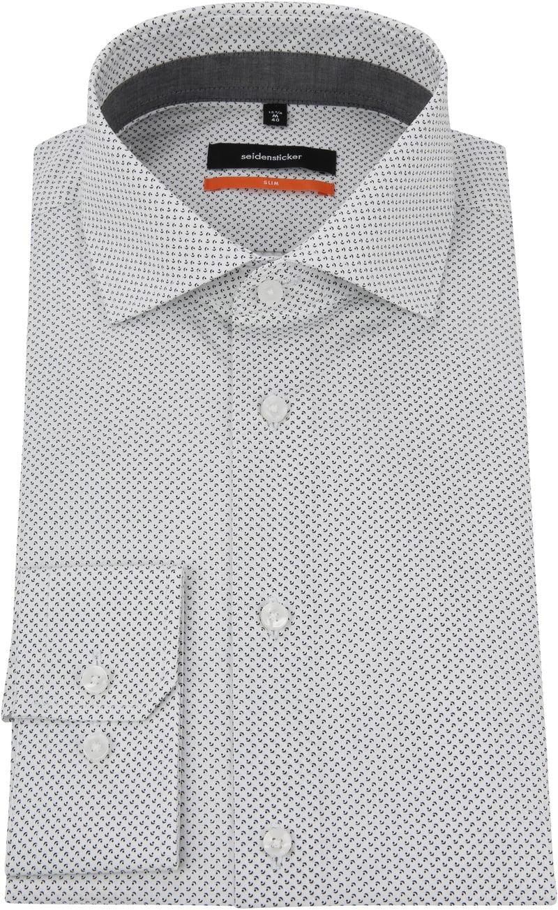 Seidensticker Grey Shirt Dessin photo 2