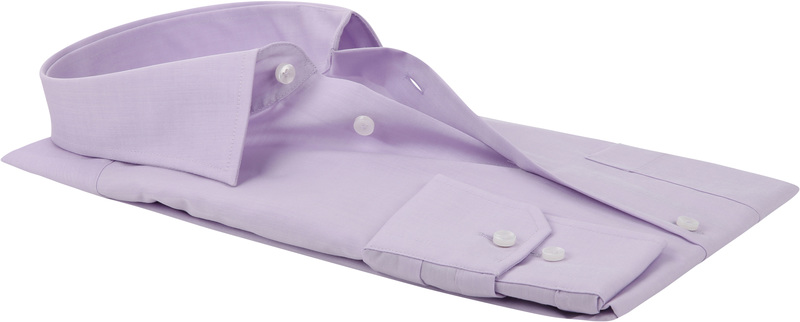 Seidensticker Hemd Bügelfrei Modern Lila