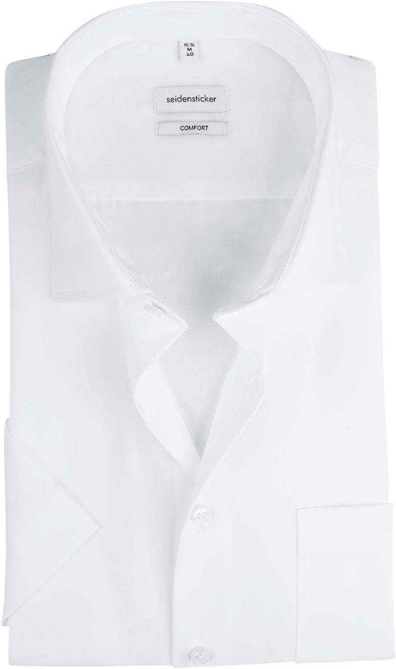 Seidensticker Hemd Comfort-Fit Weiß Foto 0