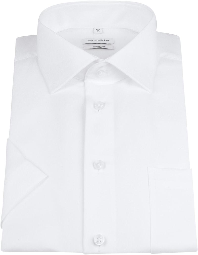 Seidensticker Hemd Comfort-Fit Weiß Foto 2