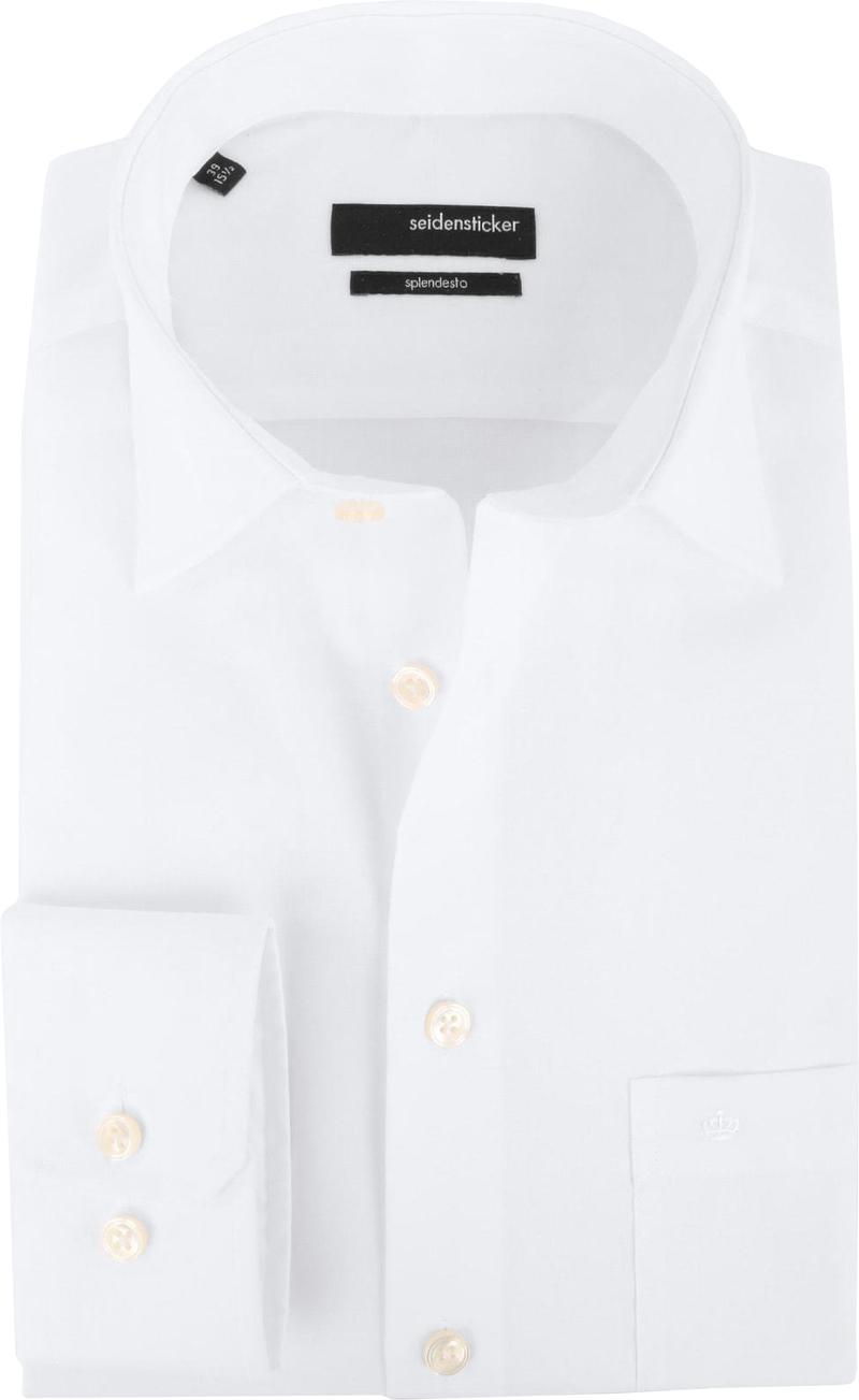 Seidensticker Hemd Modern Bügelfrei  Weiß