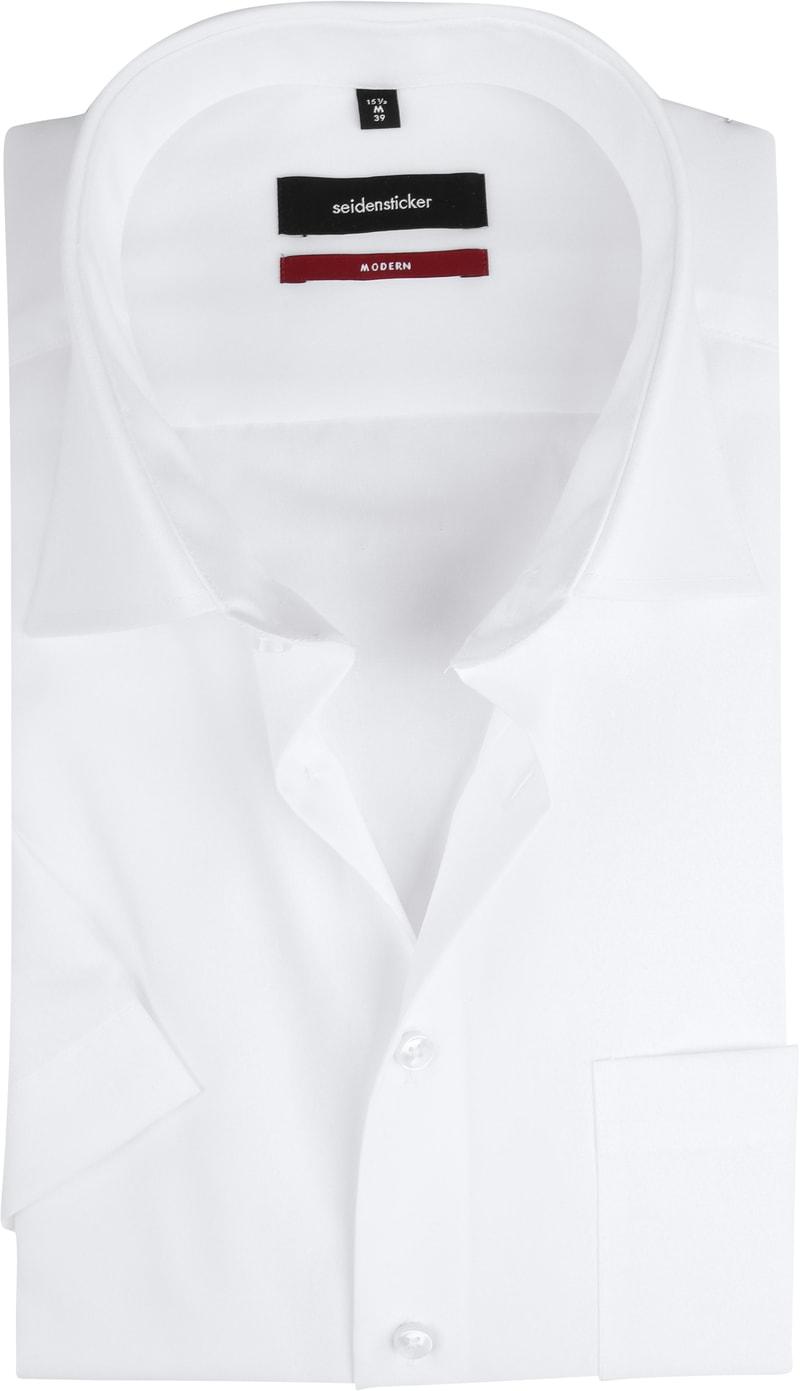 Seidensticker Hemd Weiß SS Foto 0