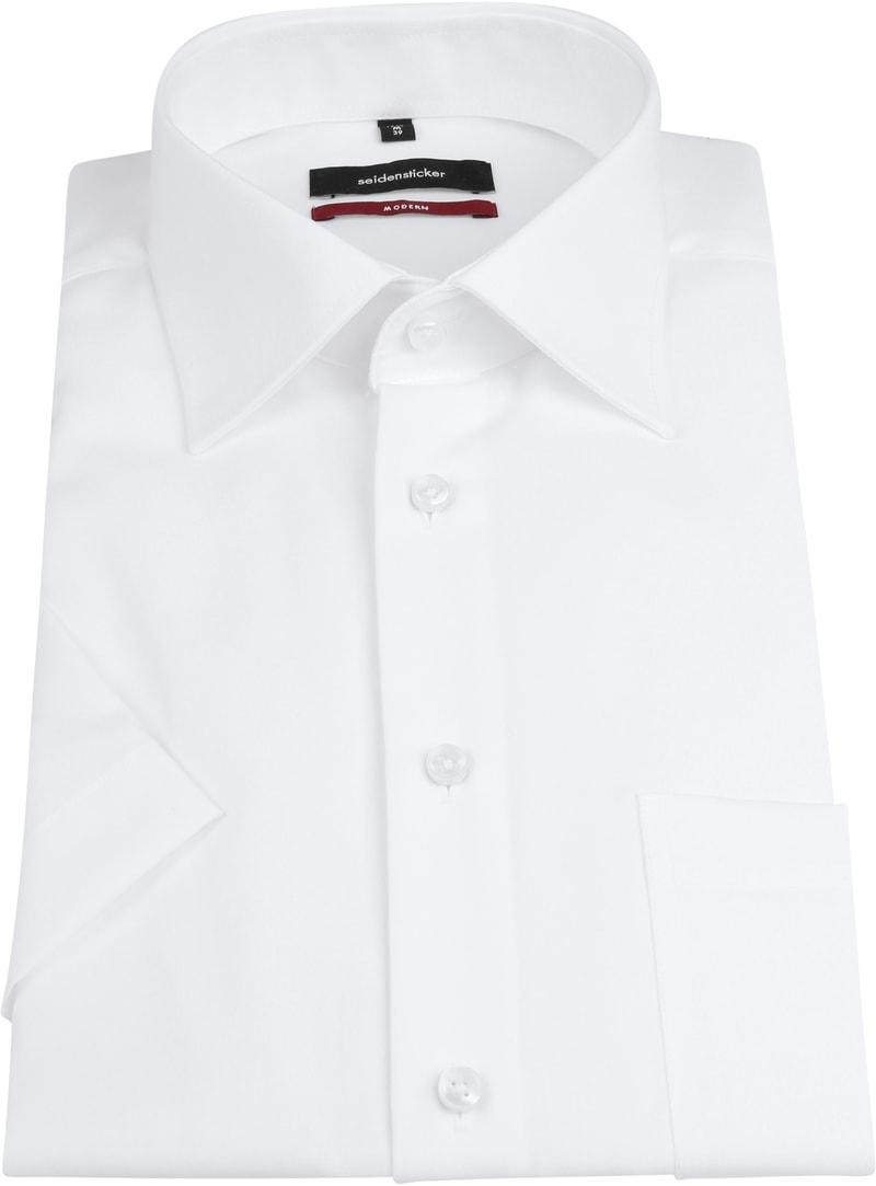 Seidensticker Hemd Weiß SS Foto 2