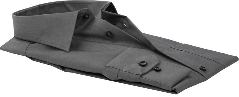 Seidensticker Overhemd Comfort Fit Antraciet foto 3