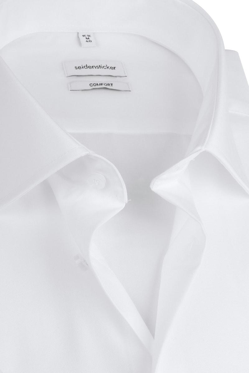 Seidensticker Overhemd Comfort-Fit Wit  foto 1