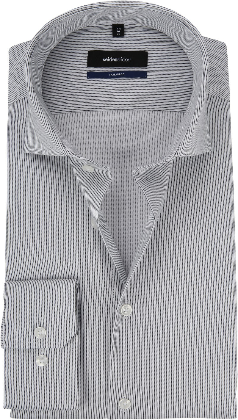 Seidensticker Overhemd Grijs foto 0