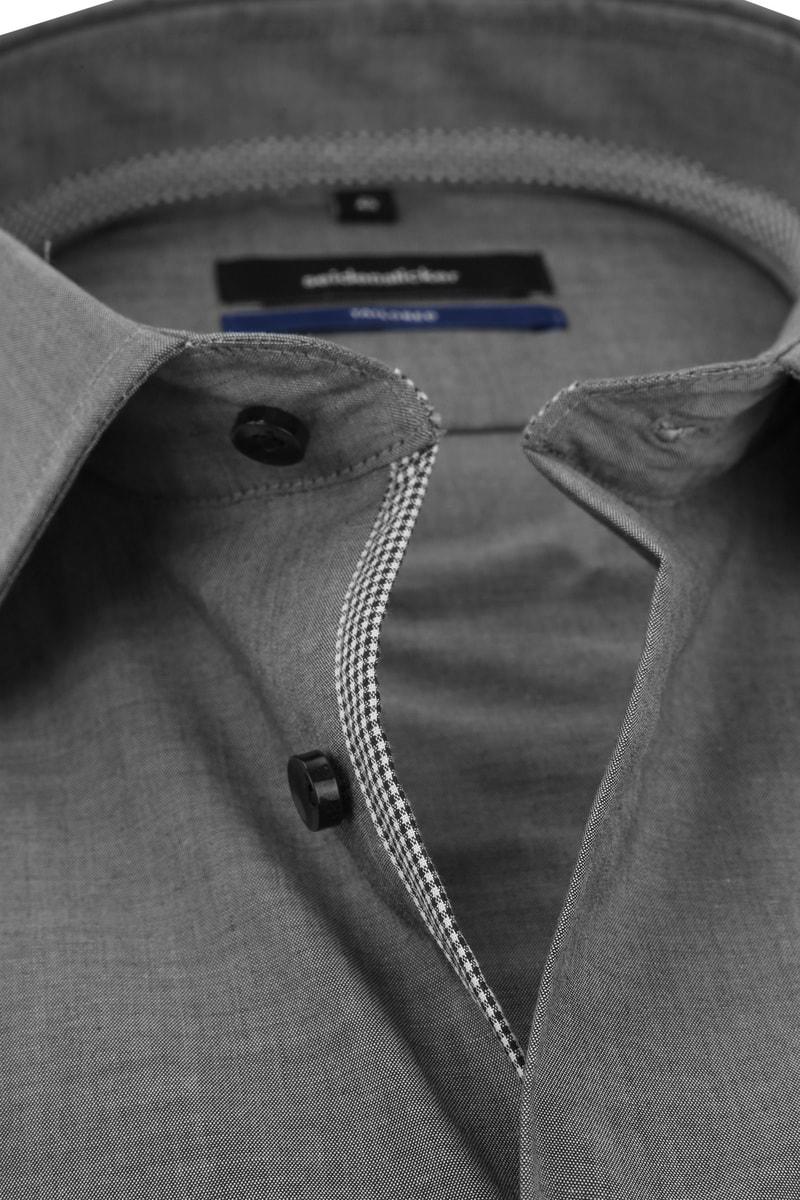 Seidensticker Overhemd Non Iron Antraciet foto 1