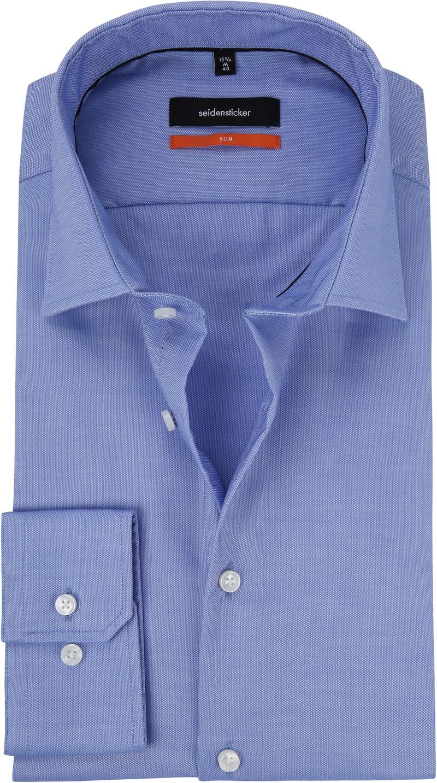Seidensticker Overhemd Oxford Blauw foto 0