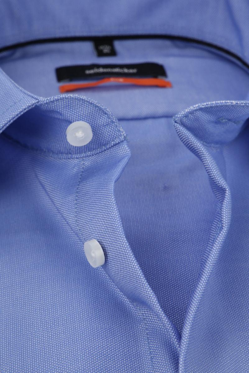 Seidensticker Overhemd Oxford Blauw foto 1