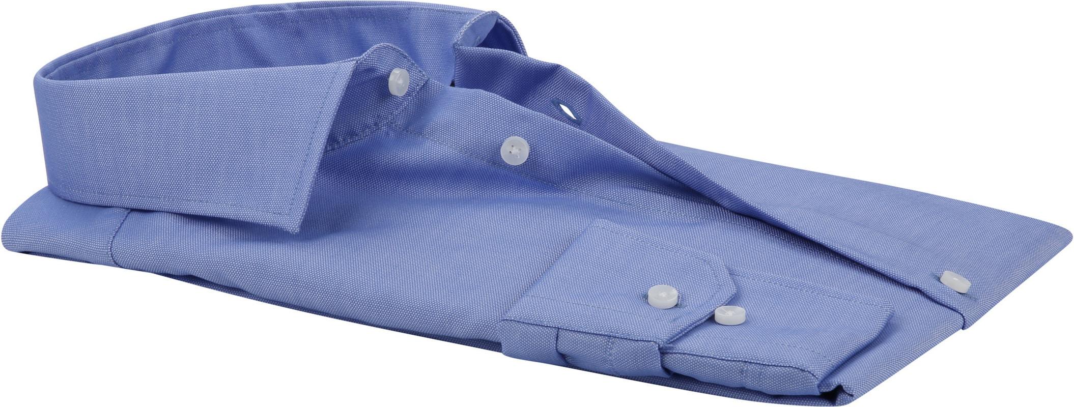 Seidensticker Overhemd Oxford Blauw foto 3