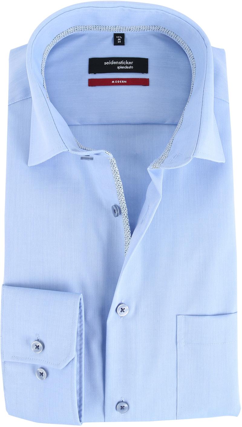 Seidensticker Overhemd Splendesto IJsblauw  online bestellen | Suitable