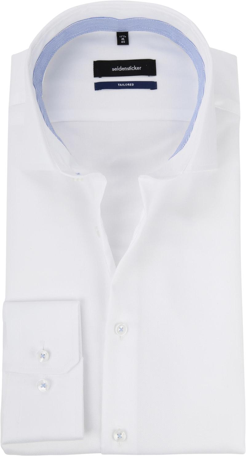 Seidensticker Overhemd WS Wit foto 0