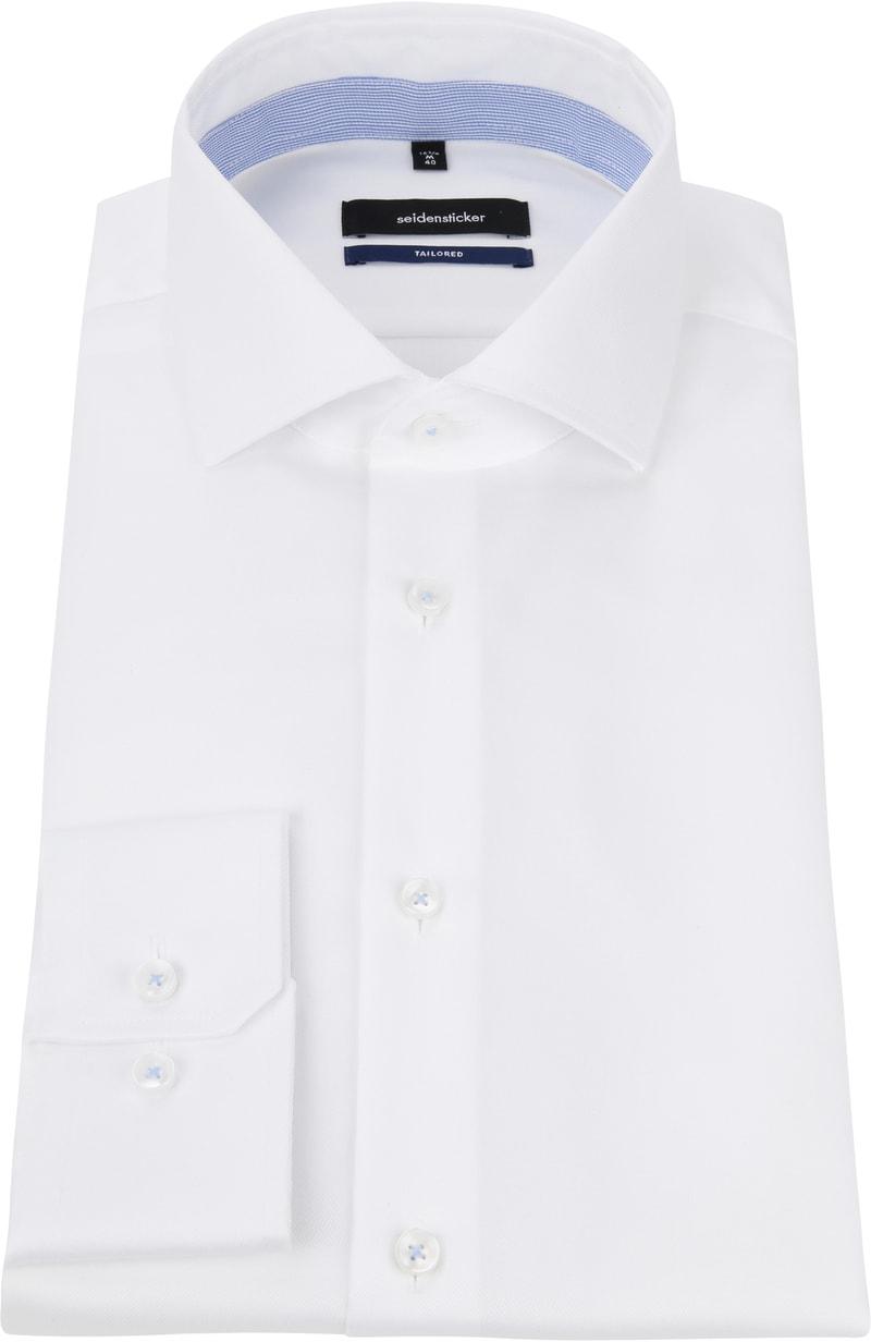 Seidensticker Overhemd WS Wit foto 2