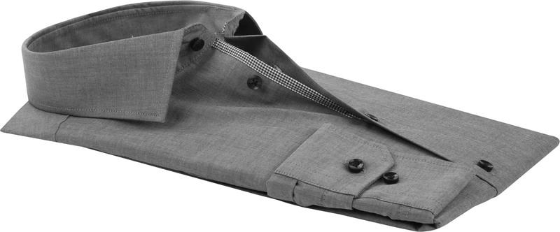 Seidensticker Shirt Non Iron Dark Grey photo 3