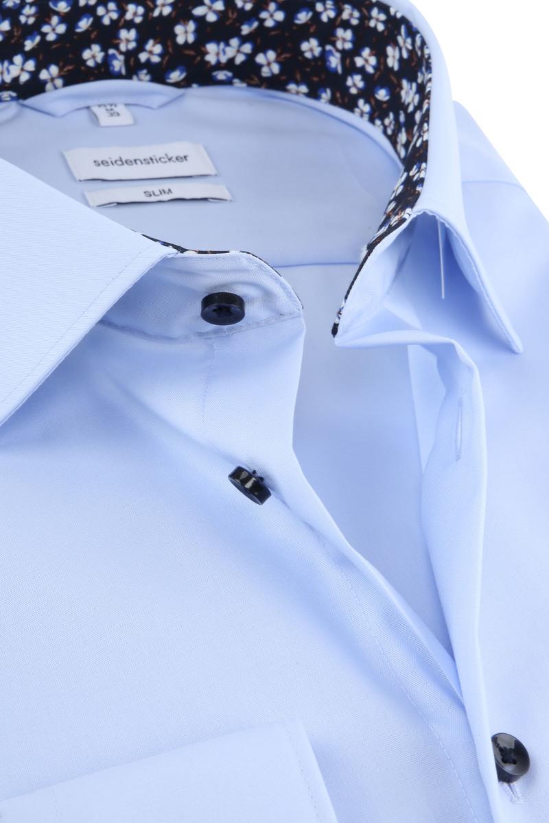 Seidensticker Shirt Slim Blue photo 1