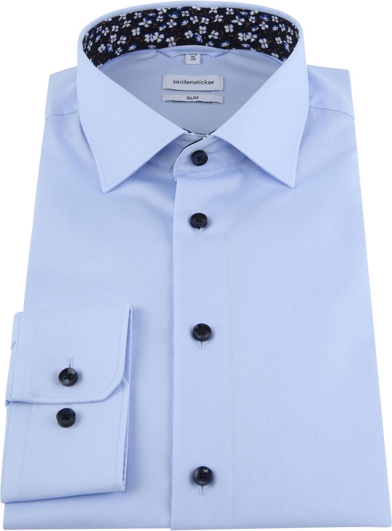 Seidensticker Shirt Slim Blue photo 2