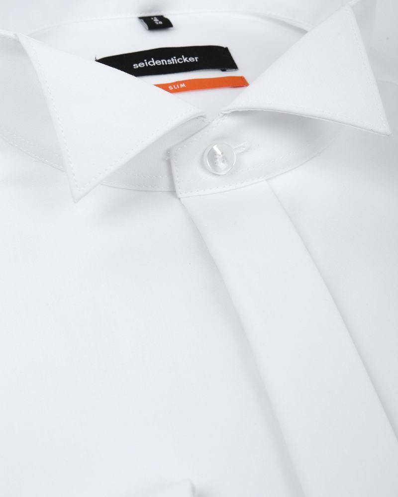 Seidensticker Smokinghemd Weiss Foto 1