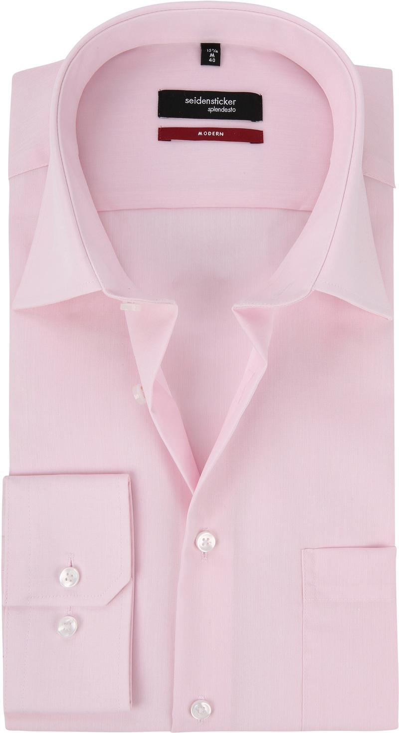 Seidensticker Splendesto Overhemd Roze foto 0