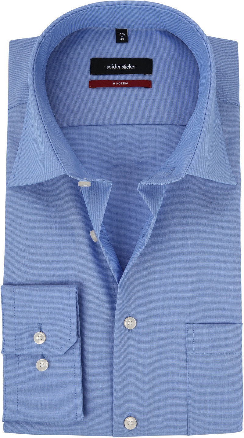 Seidensticker Splendesto Shirt Blue