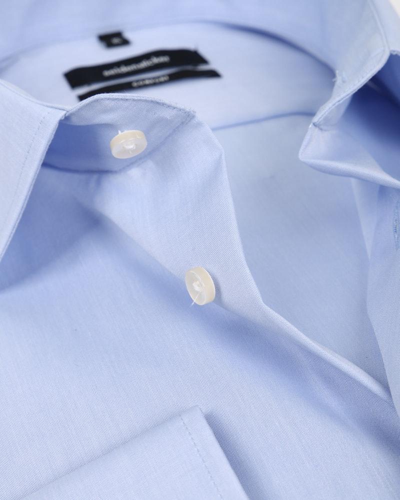 Seidensticker Strijkvrij Lichtblauw Comfort-Fit S7 foto 1