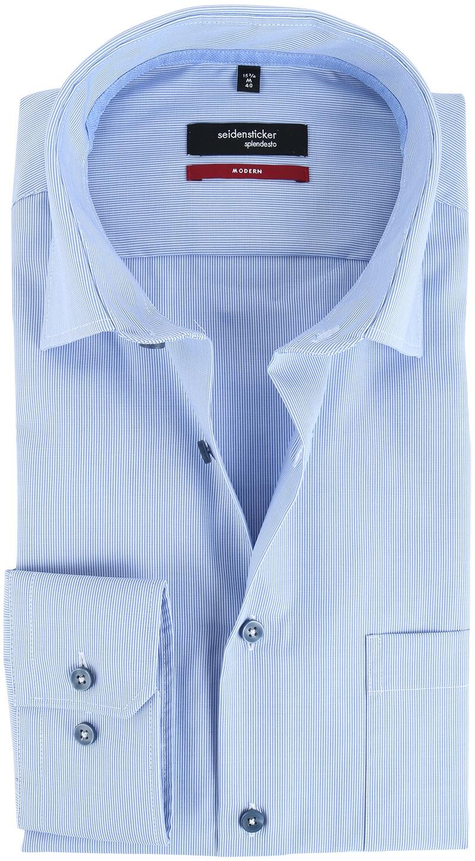 Seidensticker Strijkvrij Overhemd Dessin  online bestellen | Suitable