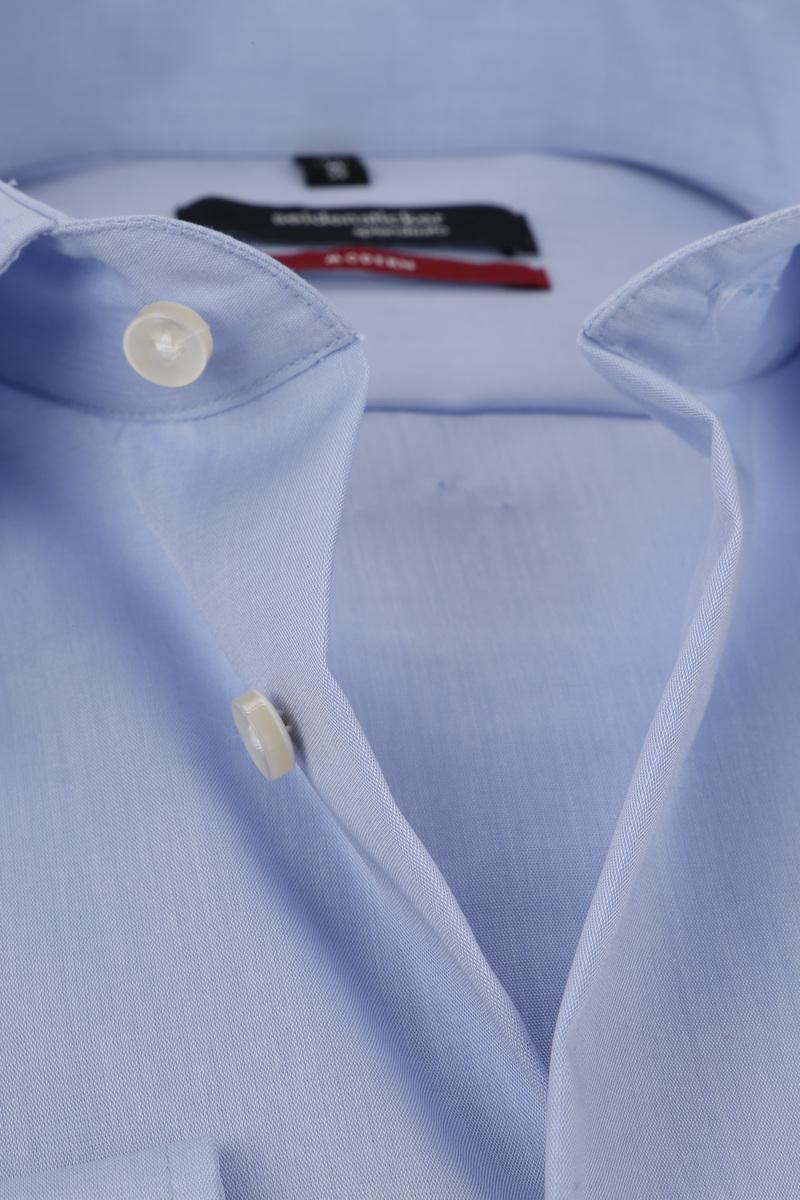 Seidensticker Strijkvrij Overhemd Lichtblauw foto 1
