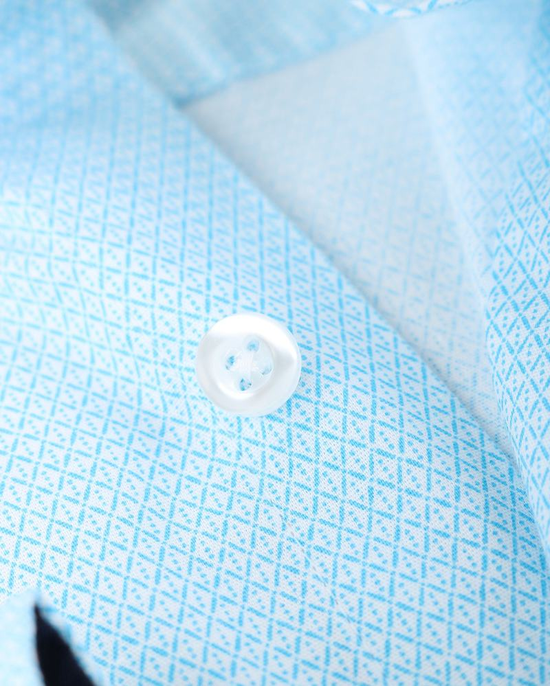 Shirt Suitable S2-3 Licht Blauw Wit foto 2