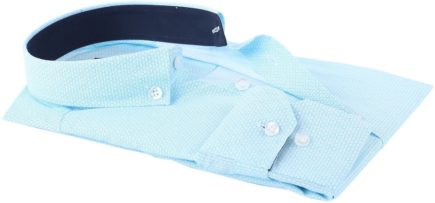 Shirt Suitable S2-3 Licht Blauw Wit foto 3