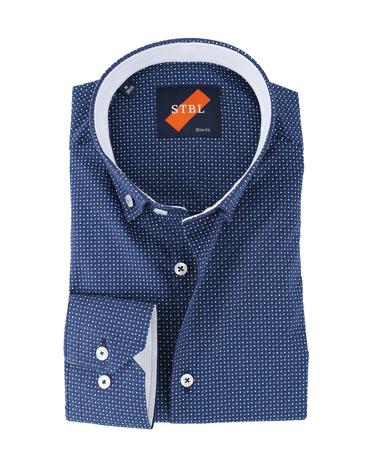 Shirt Suitable S2-7 Blauw Groen  online bestellen | Suitable