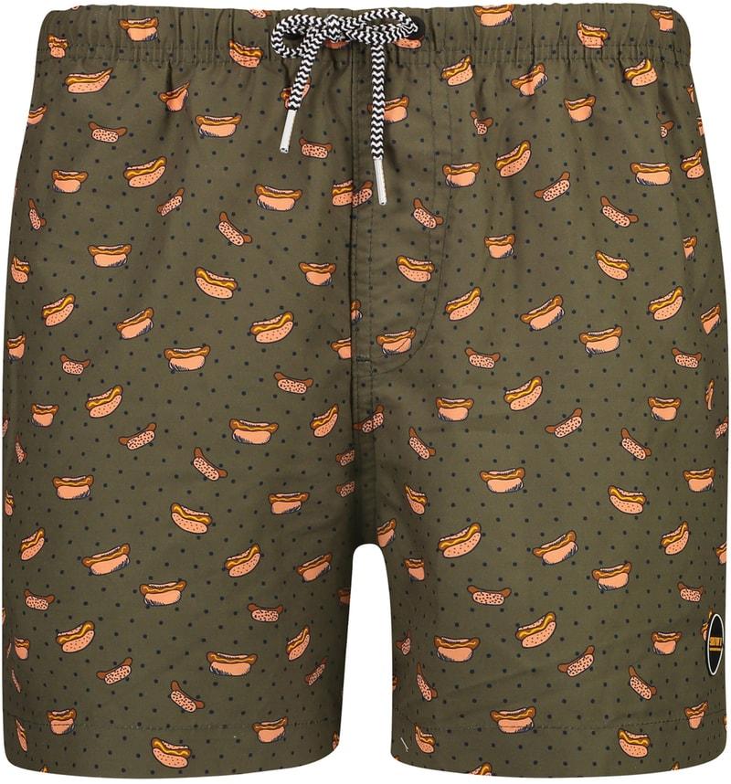 Shiwi Swimshorts Hotdog Dark Green photo 0