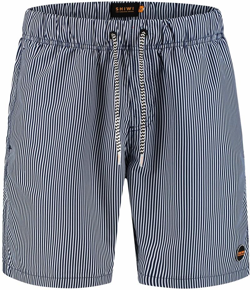 Shiwi Swimshorts Stripes Dark Blue photo 0