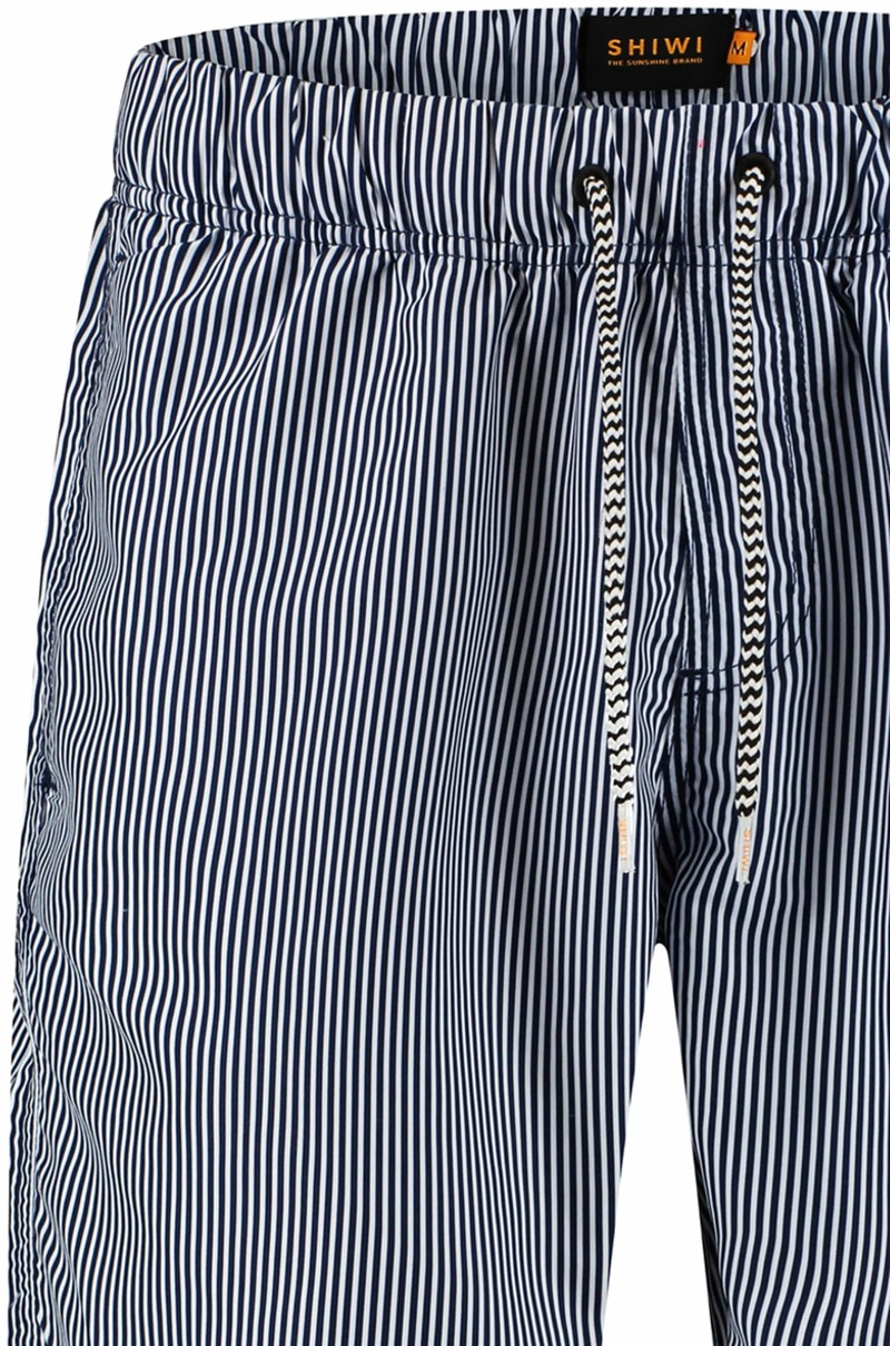 Shiwi Swimshorts Stripes Dark Blue photo 1
