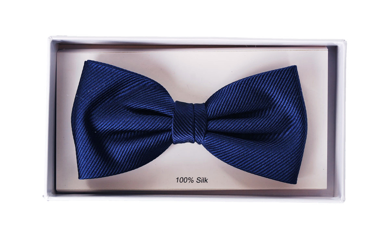 Silk Bow Tie Navy F35 photo 1