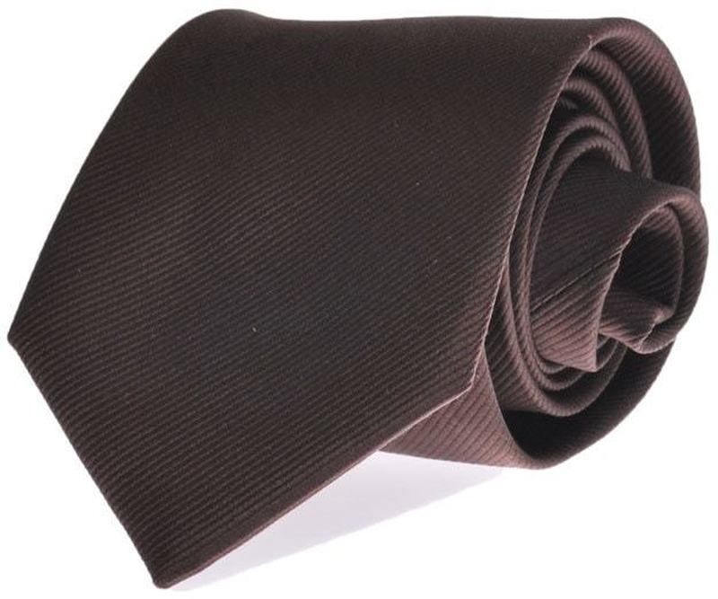 Silk Tie Brown F45 photo 0