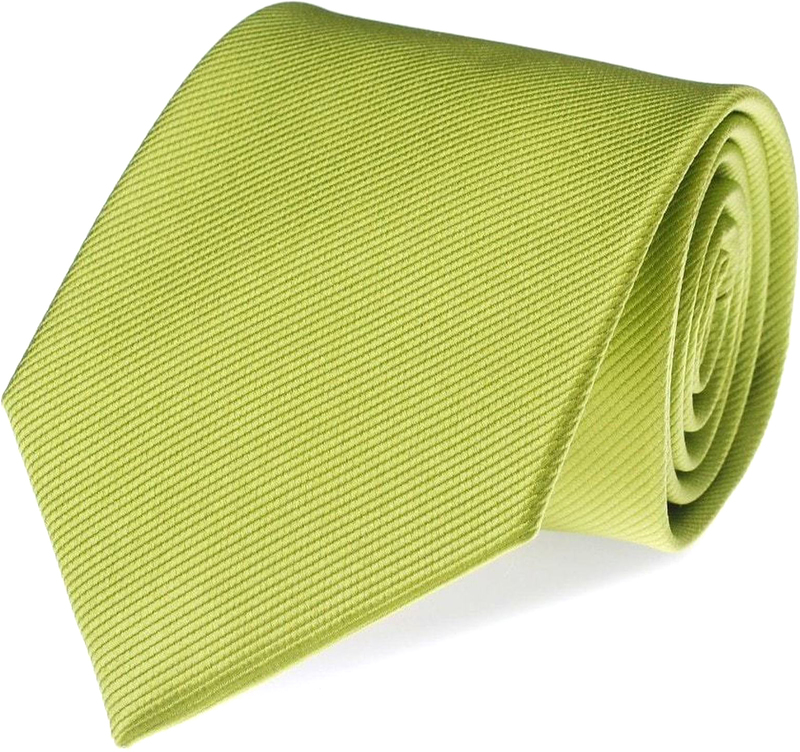 Silk Tie Lime Green F04 photo 0