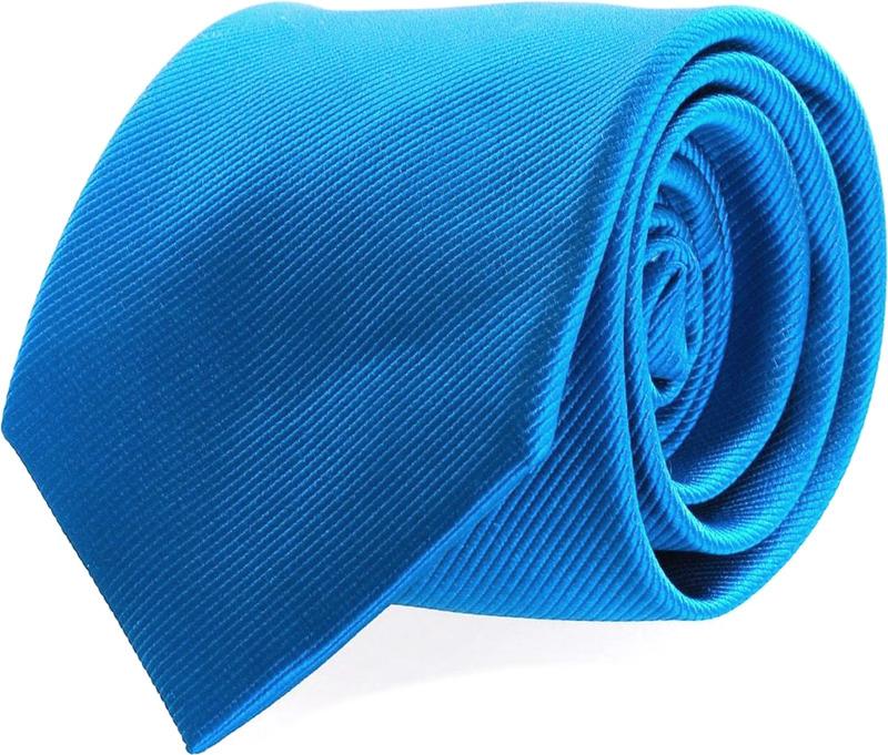Silk Tie Ocean Blue F32