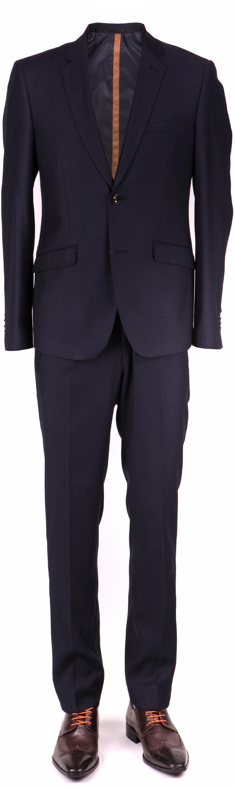 Skinny Fit Anzug Navy