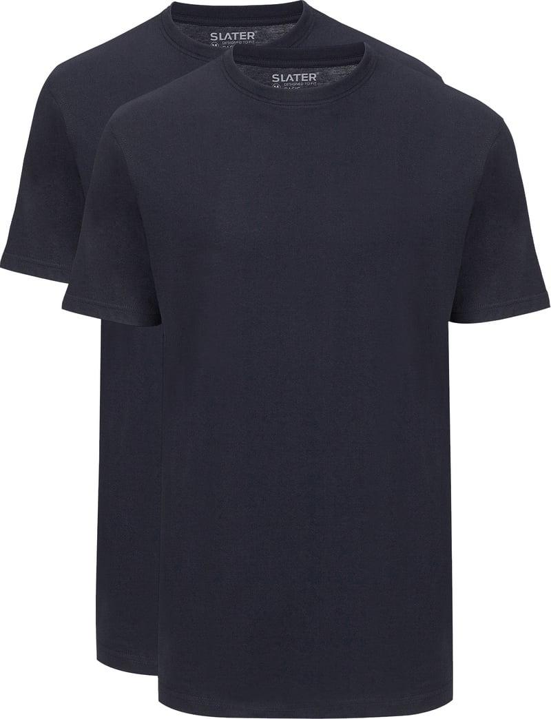 Slater 2-pack American T-shirt Navy