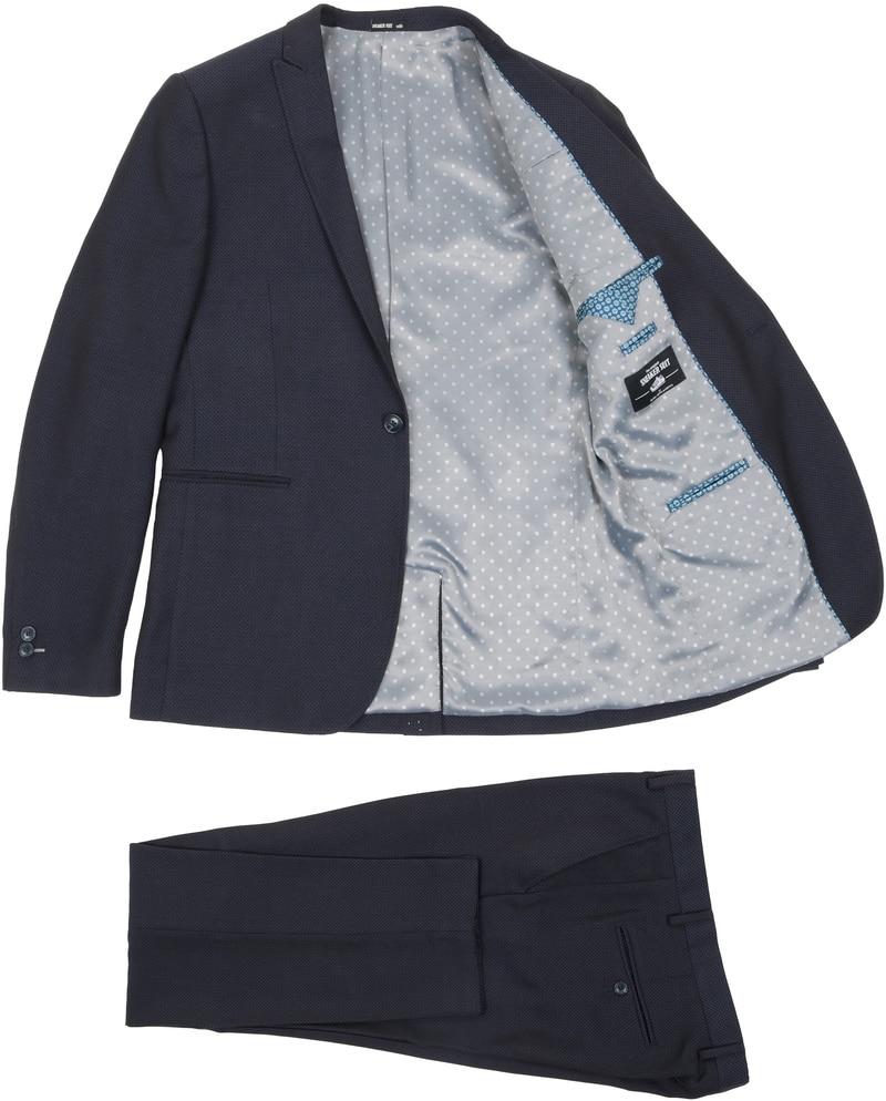 Detail Sneaker Suit Ponies Navy